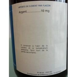 Argent colloïdal du laboratoire breton Alg'Breizh, en vente à Shanti Breizh