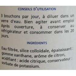 Silice colloïdale du laboratoire Breton Alg Breizh en vente à Shanti Breizh à Trégunc