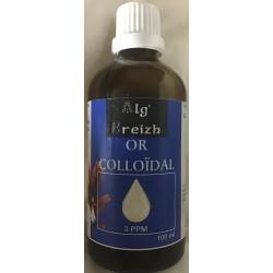 Or colloïdal du laboratoire Alg'Breizh en vente à Shanti Breizh à Trégunc en Bretagne
