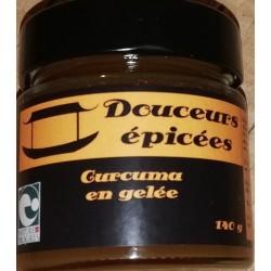 Douceurs épicées, Curcuma en gelée en vente à Shanti Breizh, Trégunc Bretagne Finistère