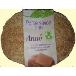 Anaé: porte-savon luffa (loofah) à Shanti Breizh, Trégunc Bretagne