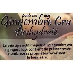 Croc' enVie, gingembre, à Shanti Breizh, Trégunc, Finistère Bretagne
