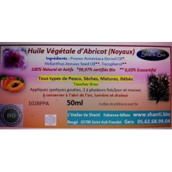 Huile de noyaux d'Abricot...