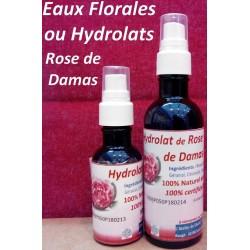 Hydrolat de Rose de Damas...