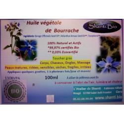 Huile de Bourrache Bio 100ml