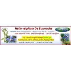 Huile de Bourrache Bio 50ml