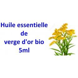 Huile essentielle de verge d'or bio 5ml