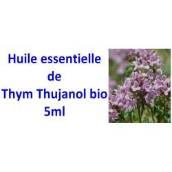 Huile essentielle de thym thujanol bio 5ml