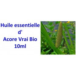 Huile essentielle d'acore vrai bio 10ml