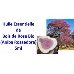 Huile essentielle de bois de rose bio 5ml