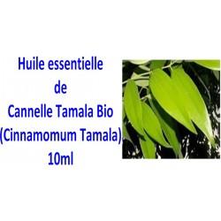 Huile essentielle de cannelle tamala bio 10ml