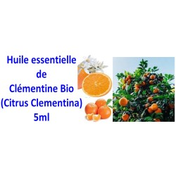 Huile essentielle de clémentine bio 5ml