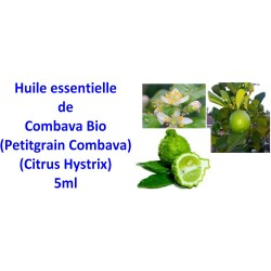 Huile essentielle de combava petitgrain bio 5ml