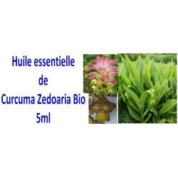 Huile essentielle de curcuma zedoaria bio 5ml