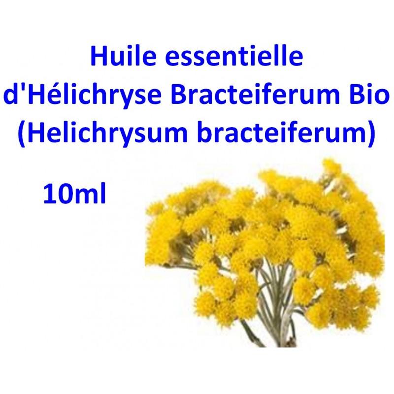 Huile essentielle d'Hélichryse Bracteiferum bio 10ml