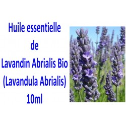Huile Essentielle de Lavandin Abrialis Bio 10 ml