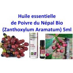 Huile Essentielle de Poivre du Népal Bio 5 ml