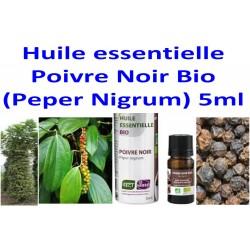 Huile Essentielle de Poivre Noir Bio 5 ml