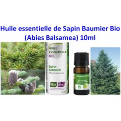 Huile Essentielle de Sapin Baumier Bio 10 ml