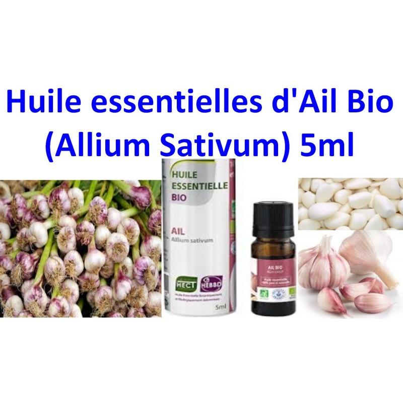 Huile Essentielle d'Ail Bio 5ml