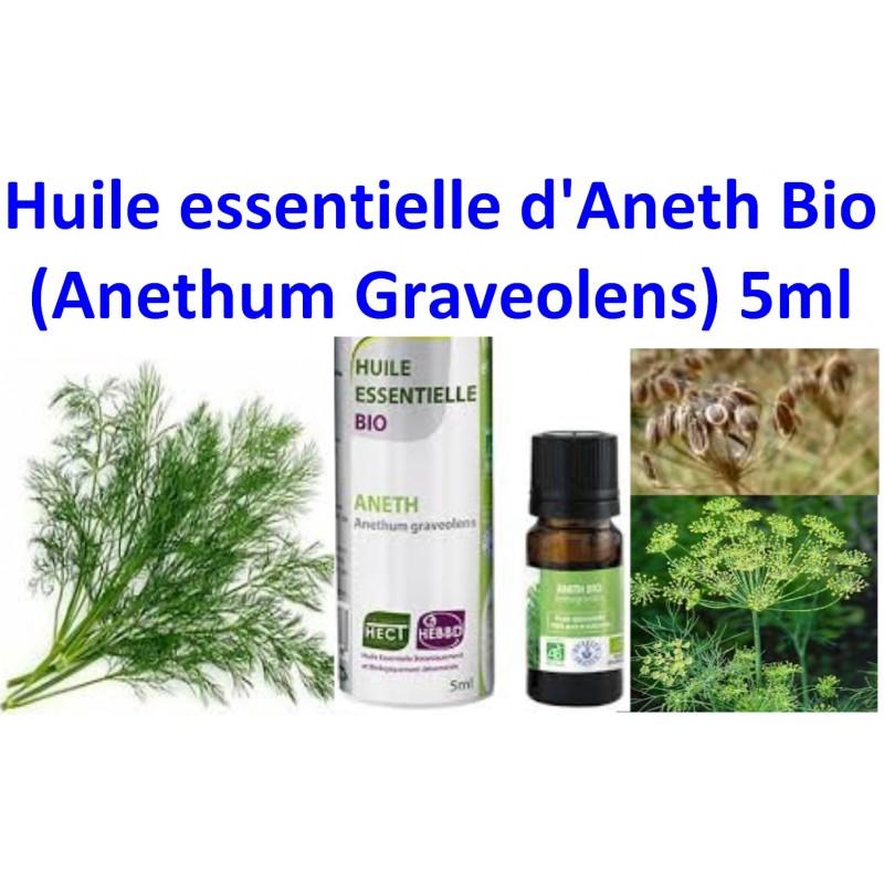 Huile Essentielle Aneth bio 5ml