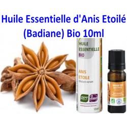 Huile Essentielle d'Anis Etoilé bio (Badiane) 10ml