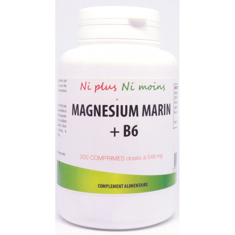 Magnésium marin + vit B6