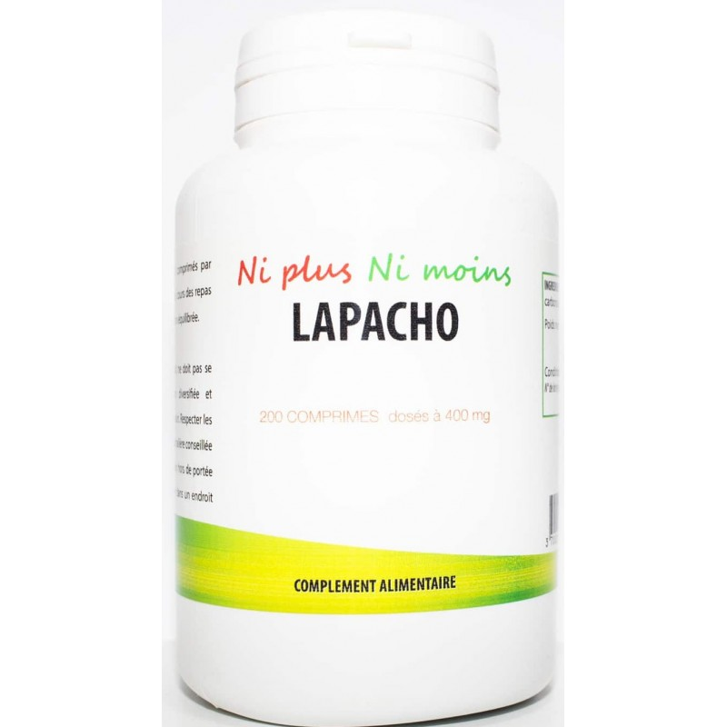 Lapacho (200 comprimé dosé à 400mg)