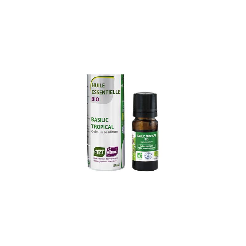Huile Essentielle de Basilic Tropical Bio 10ml