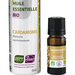 Huile Essentielle de Cardamone Bio 5ml