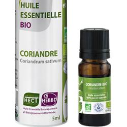 Huile Essentielle de Coriandre Bio 5ml