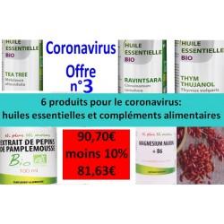 Coronavirus Offre n°3