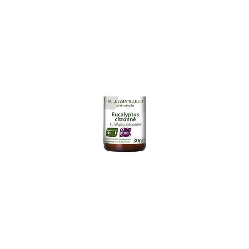 Huile Essentielle d'Eucalyptus citronné Bio 30 ml