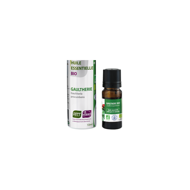 Huile essentielle de Gaulthérie Bio, 10 ml