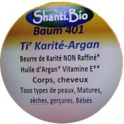 Shanti Bio, 401 Baum'Ti Karité-Argan Offre Duo 2 x 50ml
